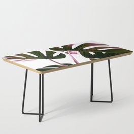 Monstera Illustration Coffee Table