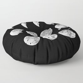 lunar phases of sleep Floor Pillow