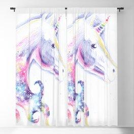 Unicorn head Blackout Curtain