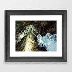 Miner's Form Framed Art Print