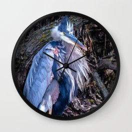 Dapper Heron Wall Clock