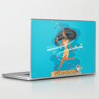 pocahontas Laptop & iPad Skins featuring Pocahontas by LindseyCowley