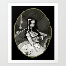 Bride of the Monster Art Print
