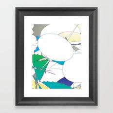 Color #4 Framed Art Print