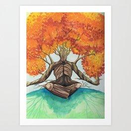 Root Yourself Art Print