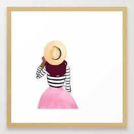 Sun Hat Framed Art Print
