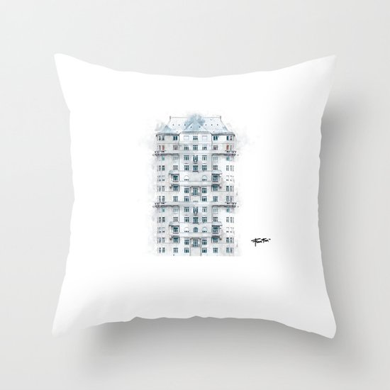 """Nowhere Home"" Throw Pillow"