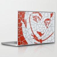 """salvador dali Laptop & iPad Skins featuring """"Salvador Dali"""" Unique mosaic  by mosaics-design.com"""