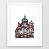 oslo Framed Art Prints featuring Oslo by thebetterview