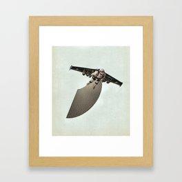 Up Up Framed Art Print