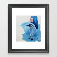 Bali Starling Framed Art Print