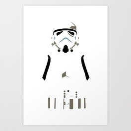 Star Wars - Storm Trooper Art Print