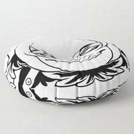 Toothy Smirk Floor Pillow
