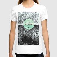 wander T-shirts featuring Wander by Rachel Kim Freelance Design