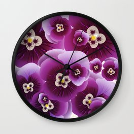 Violette Wall Clock