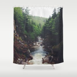 The Flume Shower Curtain