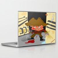 freddy krueger Laptop & iPad Skins featuring Freddy by ItalianRicanArt