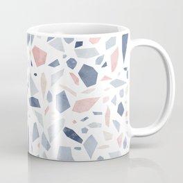 Terrazzo vintage pastel blue pink Coffee Mug