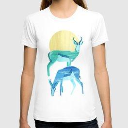 Antilopes in the sun T-shirt