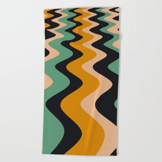 ABSTRACT 11 Beach Towel