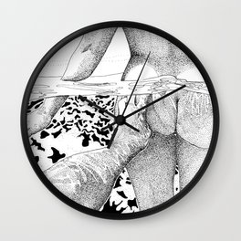The Swim Wall Clock