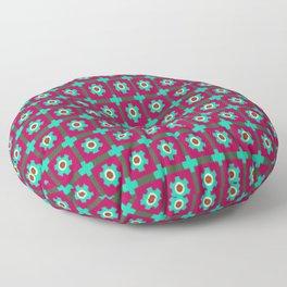 MOSAICO FLOWERS Floor Pillow