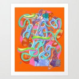 Alien Organism 13 Art Print