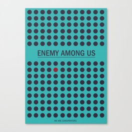 Enemy Among Us II Canvas Print