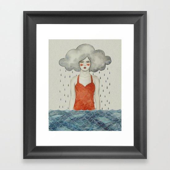 Aglaura Framed Art Print
