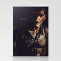 evil dead Stationery Cards featuring Evil Dead 2 - Ash by Sharon Wright
