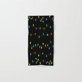 Christmas lights collection Hand & Bath Towel