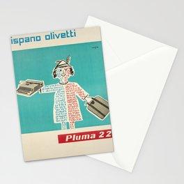 Advertisement hispano olivetti pluma 22  Stationery Cards