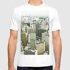 Sao Paulo Mens Fitted Tee White MEDIUM