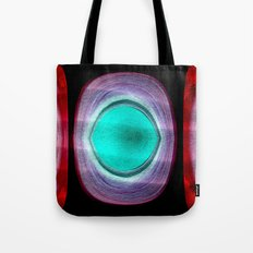 sand and sea red Tote Bag