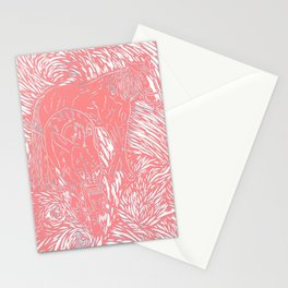Abstract Buford Charging Stationery Cards
