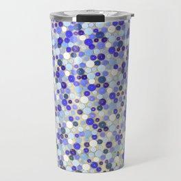 Blue disks Travel Mug