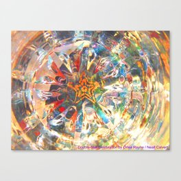 Double-Star Celebration Canvas Print