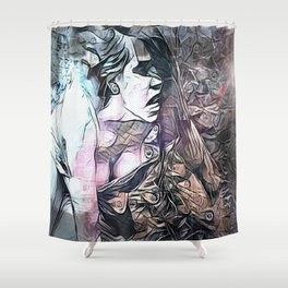 The Taking of Galatea Shower Curtain