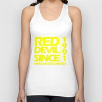 manchester Tank Tops featuring Since Manchester by Sport_Designs