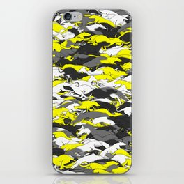 Whippet camouflage iPhone Skin
