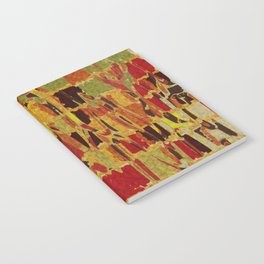 autumn colours abstract 1 Notebook