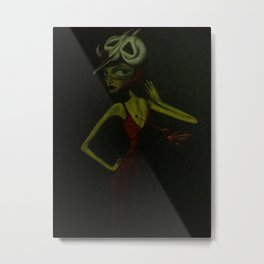 i can only think of you in the abstract Metal Print