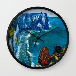 Etretat Wall Clock