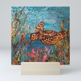 The Sea Garden - Toby Mini Art Print