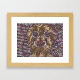 Acid. Framed Art Print