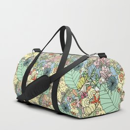 Muted In Bloom Duffle Bag