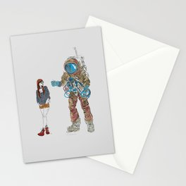 They Met Stationery Cards