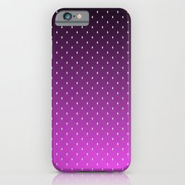 """Purple to Black Ombre on  """"White House Diamond"""" Pattern iPhone Case"""