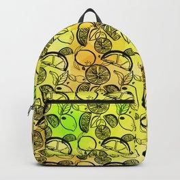 Lemon Lime Backpack