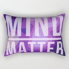 Mind Over Matter Rectangular Pillow